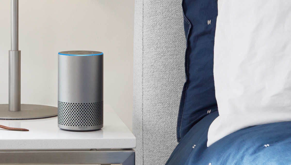 Amazon Echo nightstand
