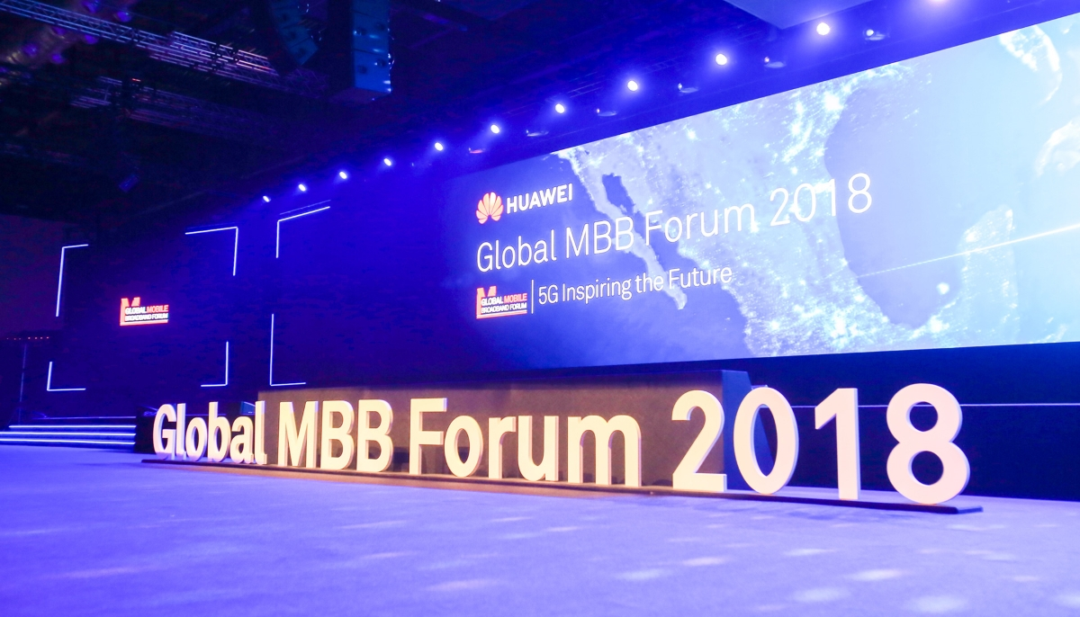 Huawei Global Mobile Broadband Forum 2018