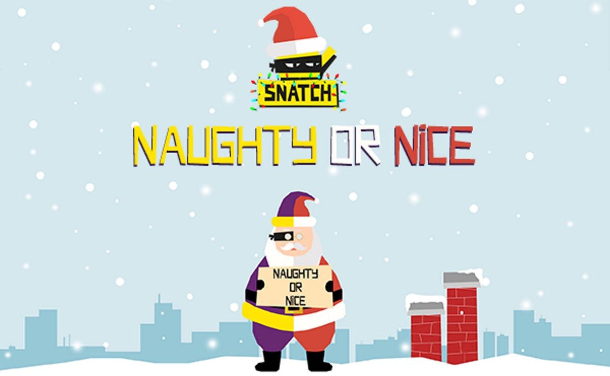 Snatch Save the Children Naughty or Nice