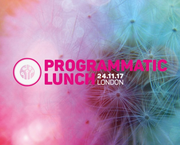Seats selling out quick at our Programmatic Lunch
