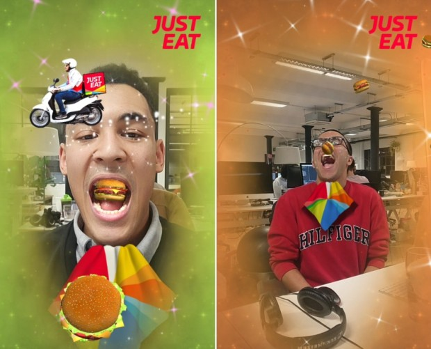 Just Eat launches floating takeaway AR experience on Facebook