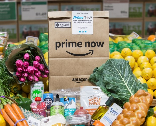 Amazon begins delivering Whole Foods groceries through Prime