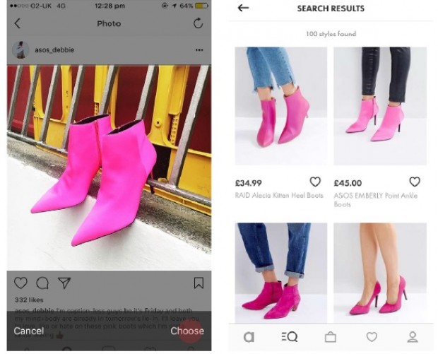 ASOS 'Style Match' visual recognition tool gets worldwide rollout