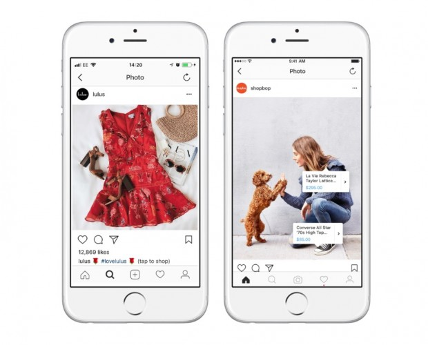 UK retailers are slow in their adoption of Instagram's shopping feature
