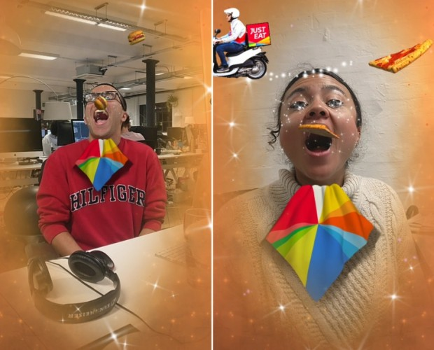 Just Eat launches successful floating takeaway Facebook AR experience