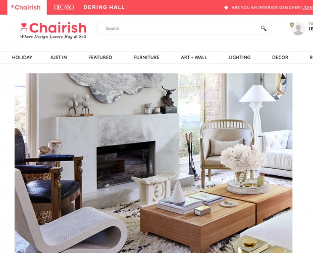 Chairish buys Dering Hall to become largest digital furniture marketplace