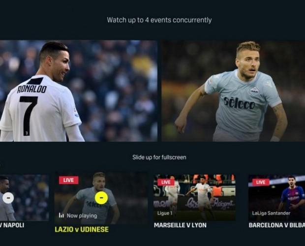 DAZN now lets viewers watch multiple games at once on the same screen