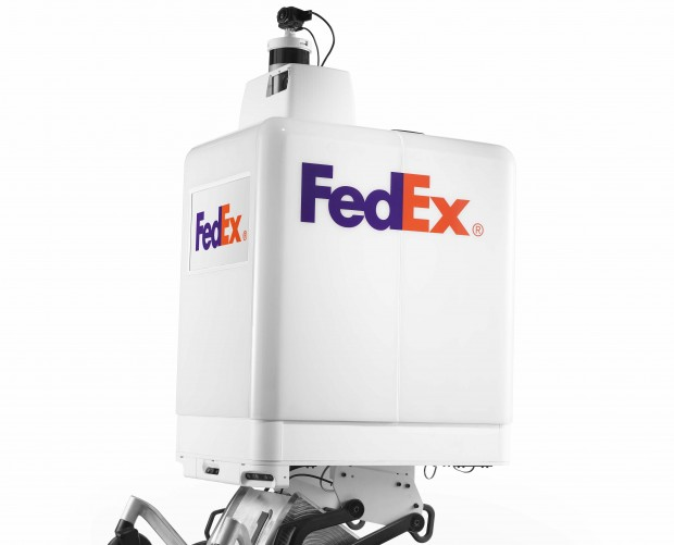 FedEx is developing an autonomous same-day delivery robot