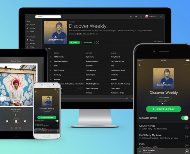 Spotify hits the 100m premium users mark