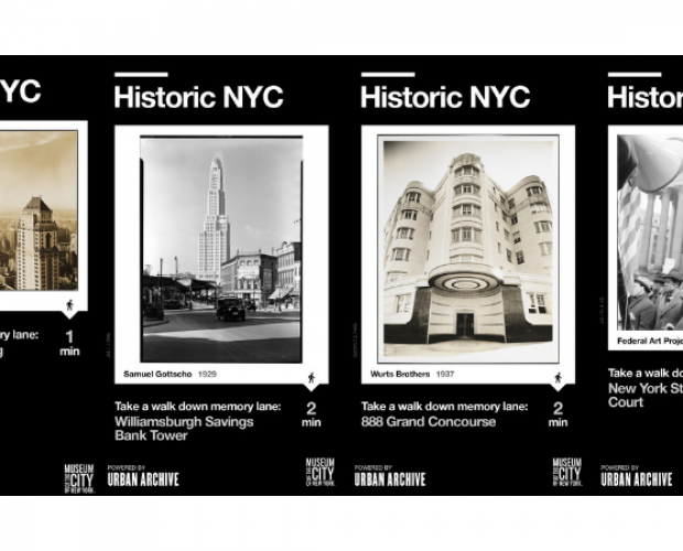 A digitalized history of New York City