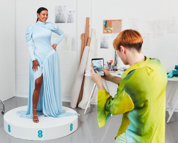 EE to debut 5G-powered augmented reality dress at BAFTA Awards