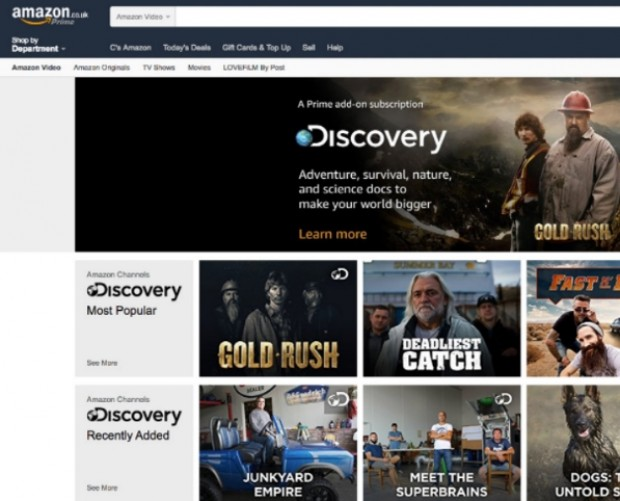Amazon launches live TV channels for Prime members in UK and Germany