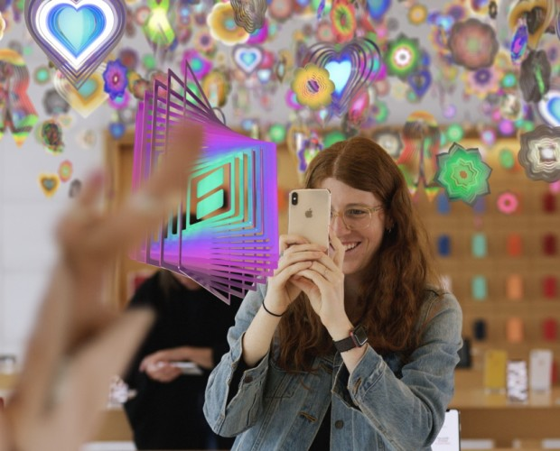 Apple launches a series of AR art exhibits in partnership with the New Museum