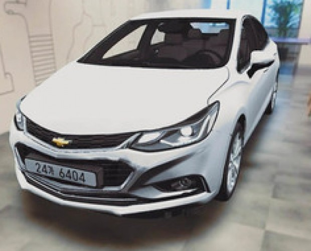 GM turns to mixed reality for Chevrolet Cruze launch