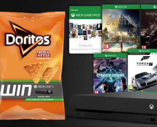 Doritos teams with YouTubers for Xbox One X campaign