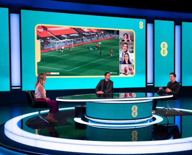 EE unveils immersive 5G sports viewing service for iPhone 12