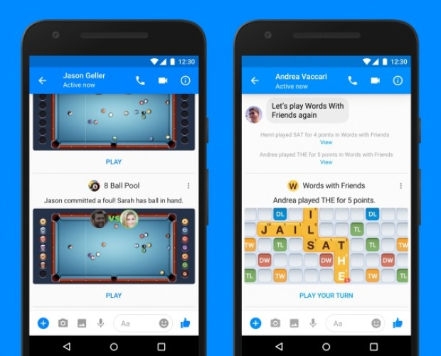 Facebook Messenger begins rolling out Instant Games to the world