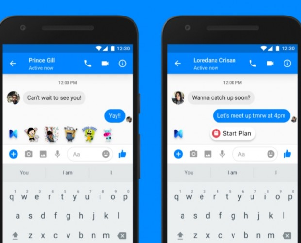 Facebook's 'M' AI offers suggestions based on your Messenger conversations