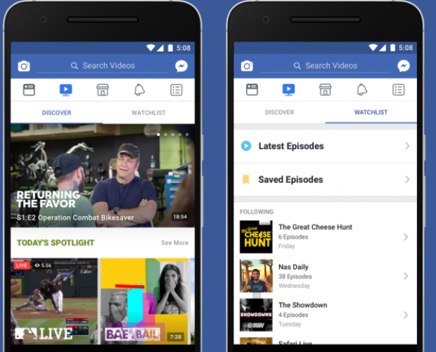 Facebook planning News section for Watch