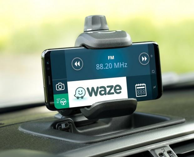 Fiat Panda Waze integrates navigation app with Fiat's Panda