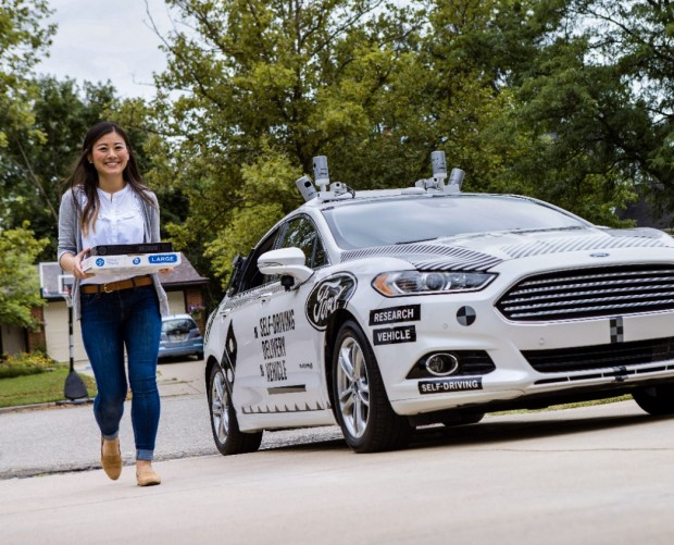 Domino's and Ford partner for self-driving delivery vehicles