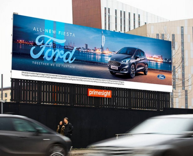 Ford turns to Radium One/Primesight offering for Fiesta promotion