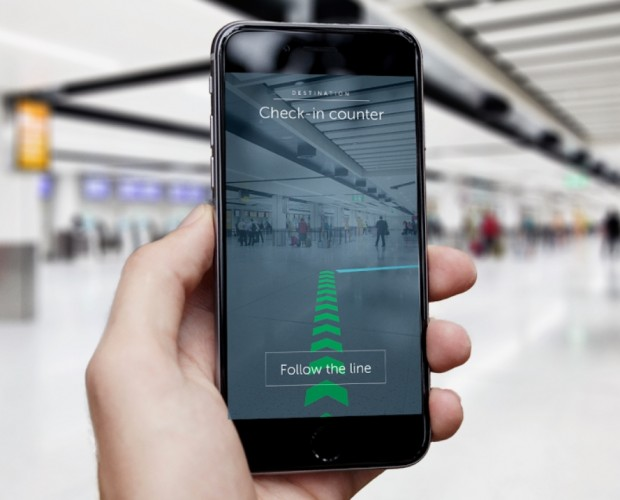Gatwick Airport introduces AR navigation powered by 2,000 beacons