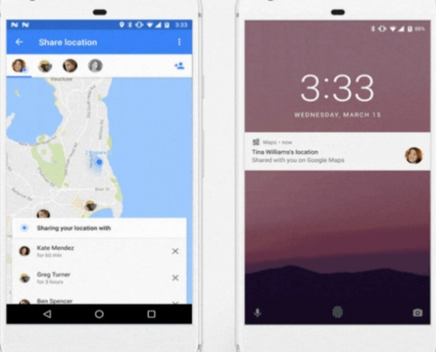 Google introduces real-time location share feature on Maps
