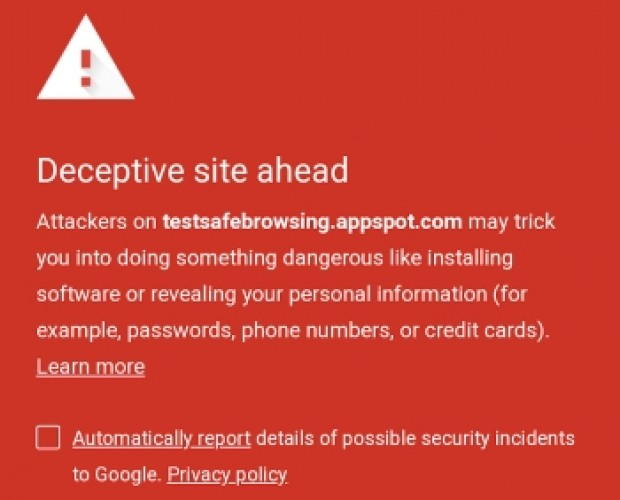 Google brings Chrome's safe browsing to Android apps