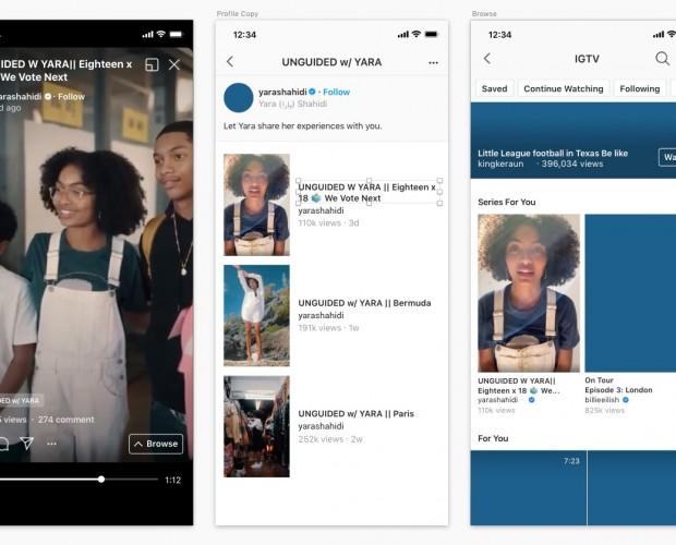 Instagram launches new series content tool for IGTV creators