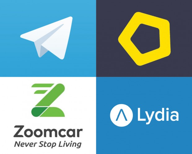 Investment Round: Telegram, Homie, Zoomcar, Lydia and Bynder