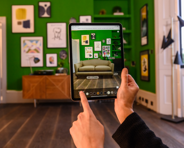 John Lewis adds 'Virtual Sofa' AR feature to its iOS app