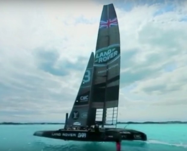 Land Rover joins forces with Sir Ben Ainslie and Jaunt for America's Cup VR experience