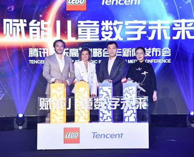 Lego partners with Tencent for co-developed games and a child-friendly social network