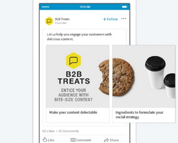 LinkedIn expands sponsored content offering with introduction of carousel ads