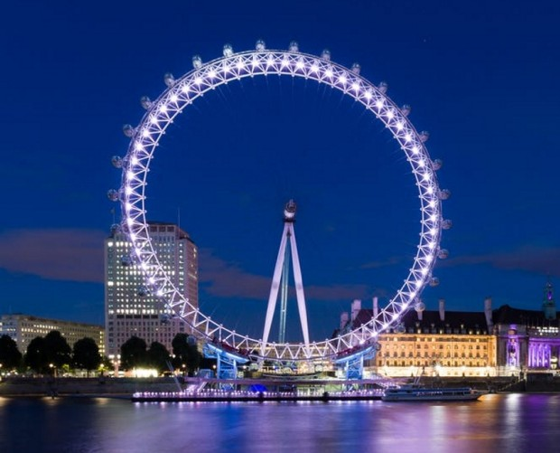 O2 wi-fi arrives at popular UK tourist attraction, the London Eye, in 'world first'