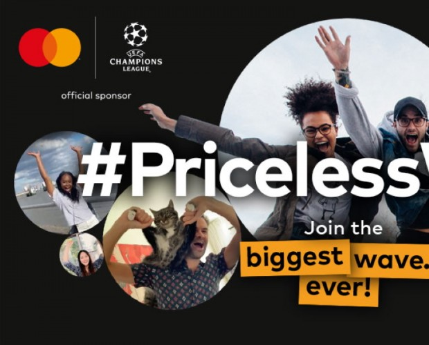 Mastercard wants to break digital wave record in latest Champions League campaign
