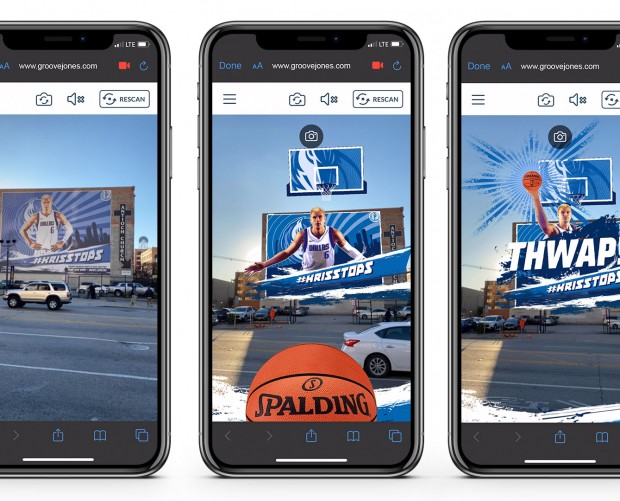 Dallas Mavericks team up with Groove Jones to launch #KrisStops AR game