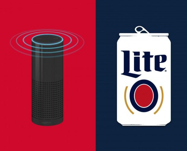 Miller Lite On-Demand restocks your fridge within the hour via Alexa