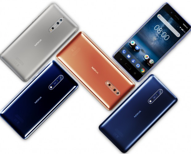 Nokia 8 lets you take 'bothies' instead of your standard selfie