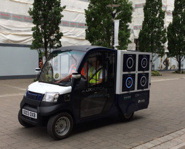 Ocado completes driverless delivery trial in Greenwich
