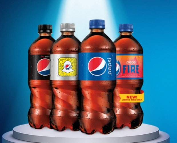 Pepsi wants you to scan and win with Snapchat to celebrate new Fire drink