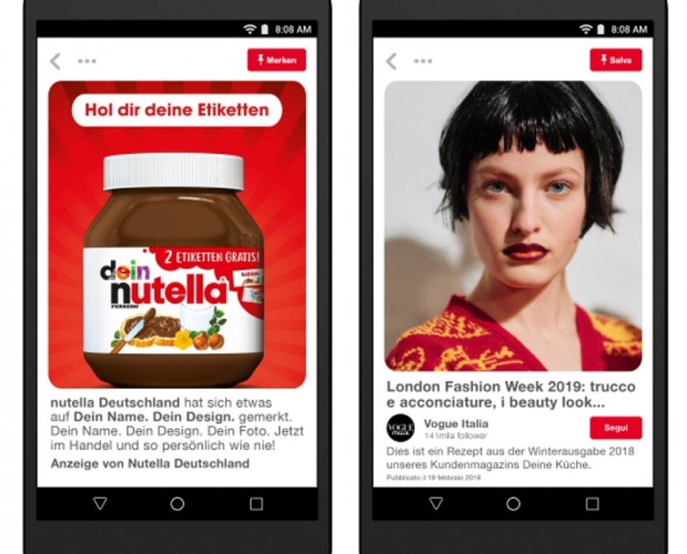 Pinterest brings advertising to Germany, Austria, Spain, and Italy