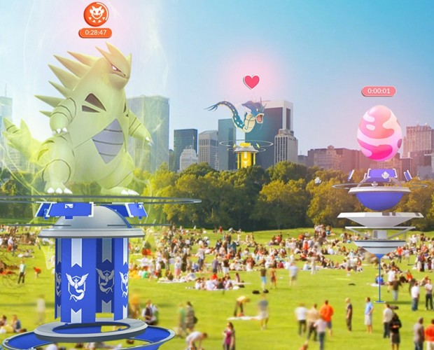 Pokémon Go gets big summer update with co-op play and new gym setup
