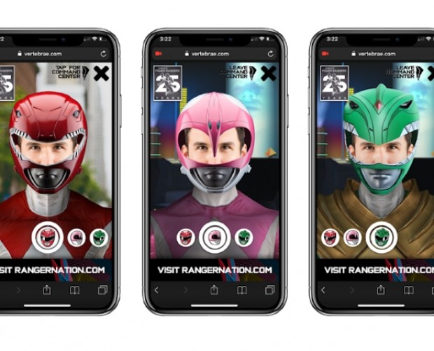 Power Rangers AR ad lets fans morph into their favourite