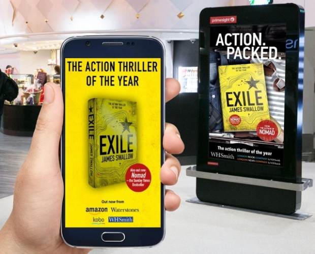 Proxama and Primesight use beacons to promote launch of book at airports