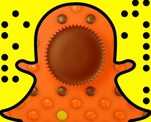 Play as a chocolatey Pac-Man on Snapchat, thanks to Reese's