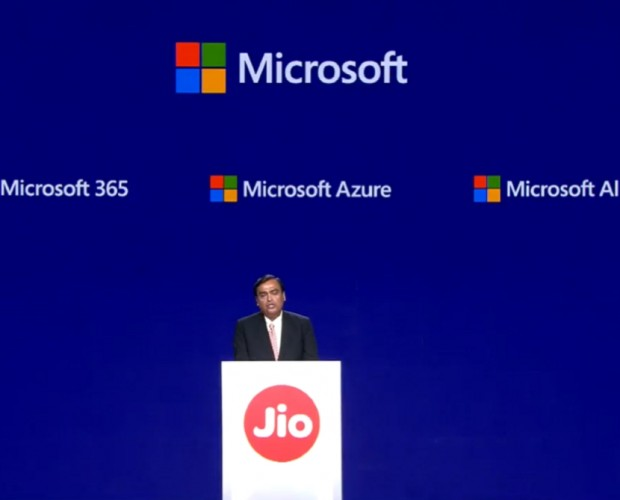 Reliance Jio inks deal with Microsoft to bring cloud-based solutions to more businesses