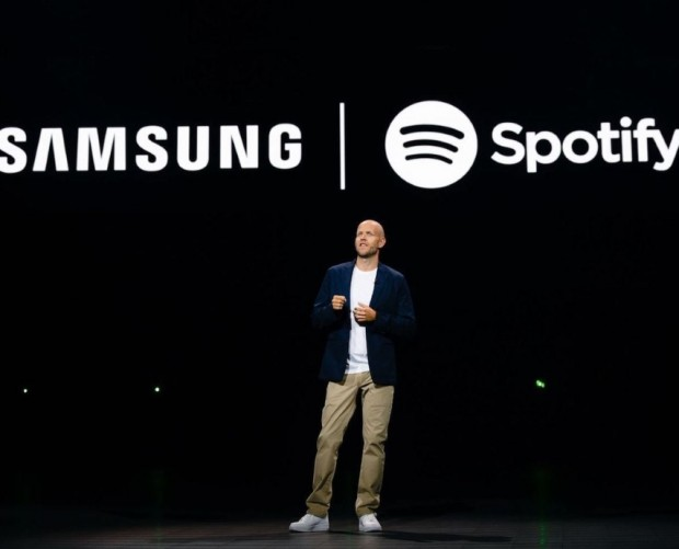 Samsung teams up with Spotify for a connected music streaming experience