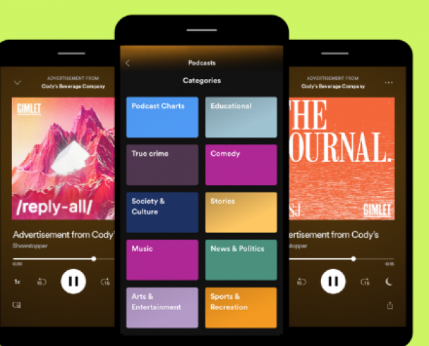 Spotify launches Streaming Ad Insertion, offering precise measurement for podcast ads
